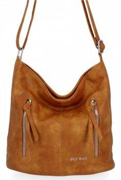 BEE BAG univerzálna dámska taška messenger Monica svetlo červená