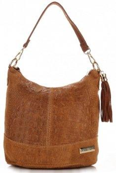 VITTORIA GOTTI kožené kabelky vyrobené v Taliansku aligátor Rudy