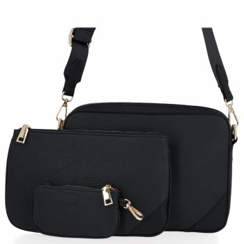 Univerzálne Dámske crossbody tašky od Herisson čierny