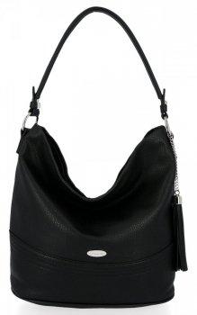 Univerzálna príležitostná dámska taška David Jones čierny