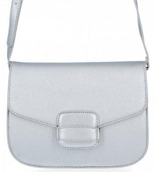Elegantná dámska taška na messenger pre všetky príležitosti od spoločnosti Herisson Silver