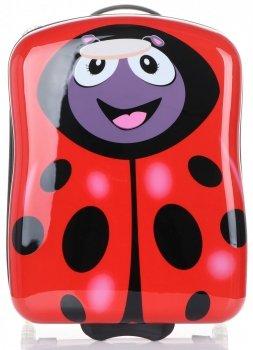 Detské kufre Madisson Ladybug Multicolor-Červená