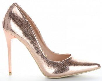 Elegantné dámske ihlové topánky Bellucci Champagne