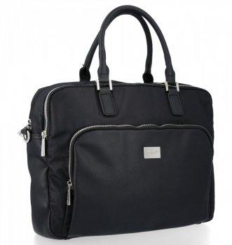 Obchodné Pánske Laptop taška David Jones čierny