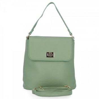Elegantné dámske tašky messenger pre všetky príležitosti od Herisson zelený