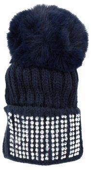 Kľúčenka na tašky módny klobúk s granátovými kamienkami