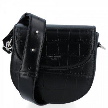 David Jones elegantné ženy Messenger tašky v štýle zvierat Čierna