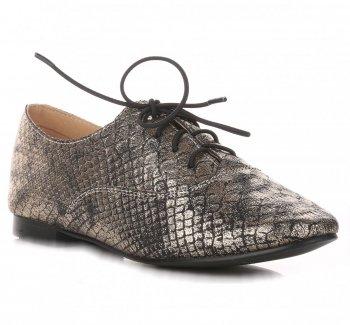 Dámske hnedé polovice topánok