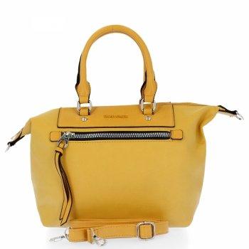 Univerzálna taška dámska taška David Jones žltý
