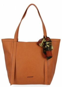 David Jones univerzálna dámska nákupná taška s šatkou