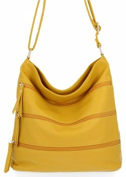 BEE Bag univerzálne Dámske tašky Messenger XL Celine Žltá
