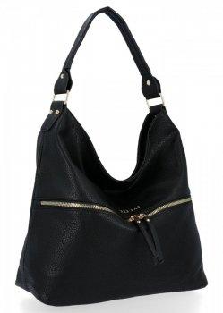 BEE BAG univerzálna dámska taška Denise Veľkosť XL Čierna