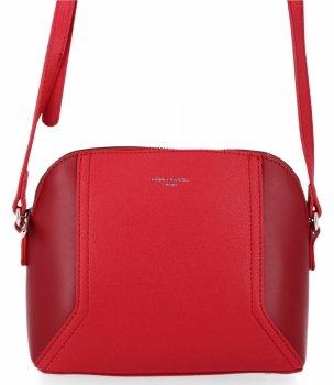 Obchodná taška Dámska univerzálna taška na posol David Jones červený