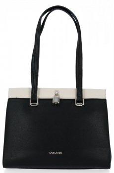 Klasická dámska taška David Jones Čierna