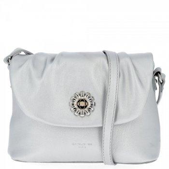 Elegantná dámska taška David Jones Silver