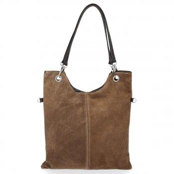 Univerzálne tašky z pravého semišu XL