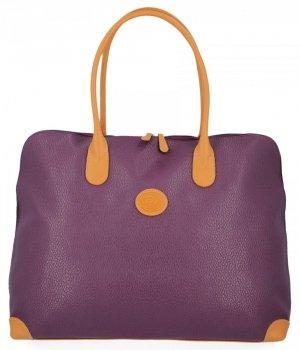 Všestranné štýlové cestovné tašky od David Jones Purple