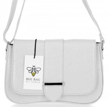 BEE Bag firemná dámska taška na messenger Cristina Biela