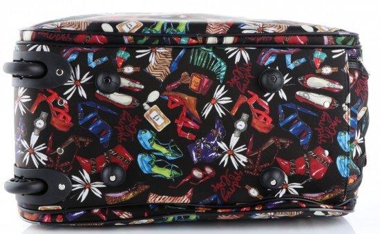 Cestovní taška na kolečkách s výsuvnou rukojetí Shoes Bags&More Or&Mi multicolor černá