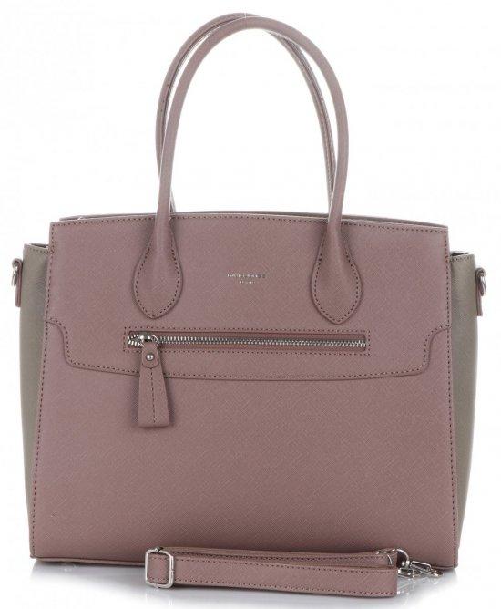 d5ea502b3e Elegantní Dámská kabelka kufřík David Jones špinavě růžová ...