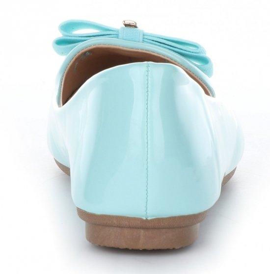 Elegantní Dámské baleríny Bellucci lakované máta