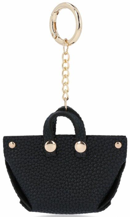 Přívěšek ke kabelce Módní ShopperBag Černá