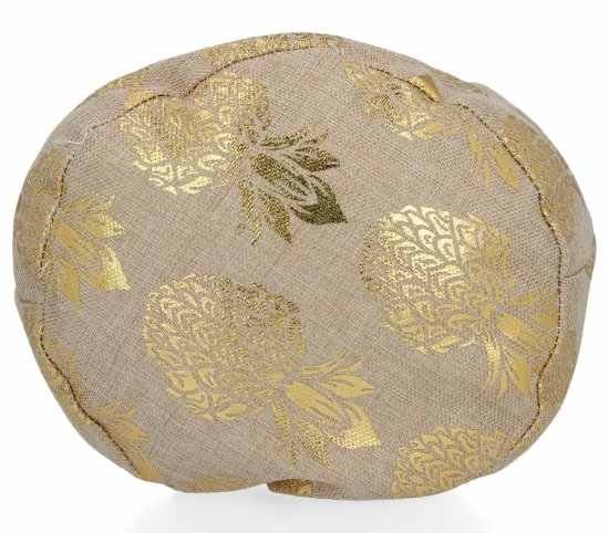 Módní Dámské Batohy vzor v ananasu Zlatý