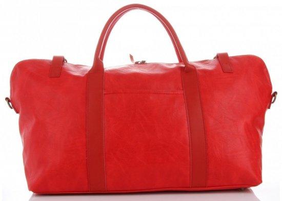 Uniwersalna Torba Podróżna marki Diana&Co Czerwona