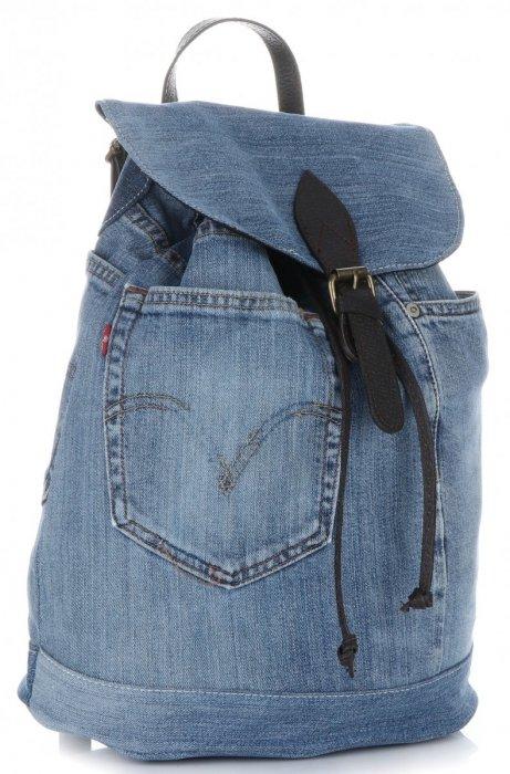 536f24107078f Ponadczasowy Jeansowy Plecak Damski frmy Vittoria Gotti Ciemny Jeans ...