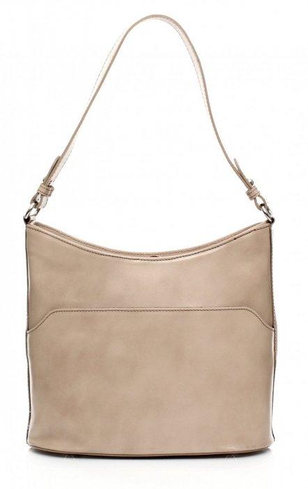 Elegantné kožené kabelky na ruky a ramená bez