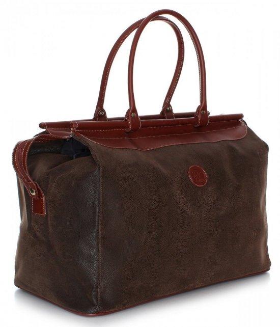 Pevné Cestovná taška David jones hnedý