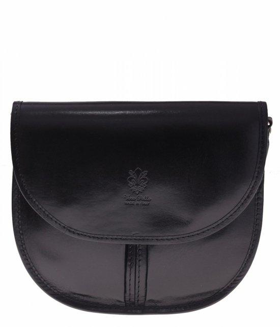 Talianske kožené tašky Vera Pelle čierny