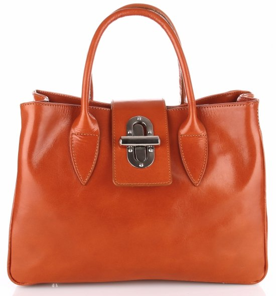 Taška Kožená taška vyrobená v Taliansku Rudy
