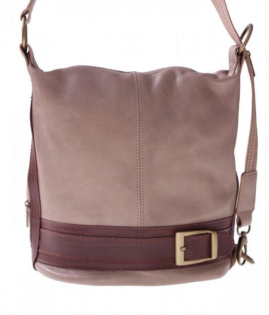 Batoh taška mäkká pravá koža