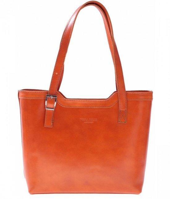 Klasické tašky z pravej kože červenej