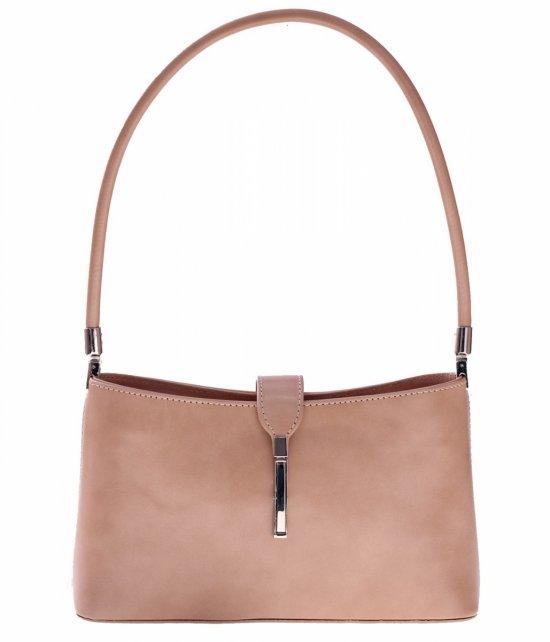 Klasické a elegantné béžové kožené tašky
