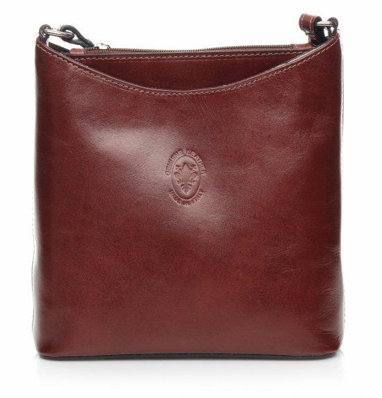 Hnedá pravá kožená taška