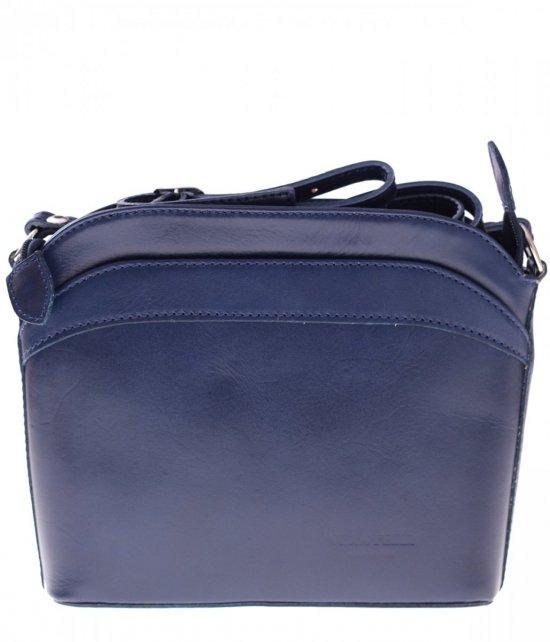 Messenger tašky, koža, tmavo modrá