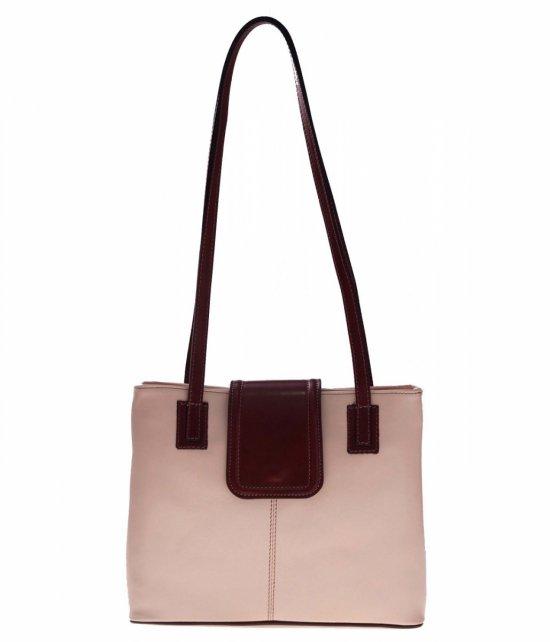 Univerzálne a ležérne kožené tašky 2 priehradky bez