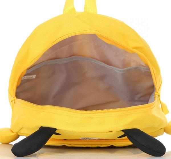 166d6c327be5e Plecaczki Dla Dzieci do Przedszkola firmy Madisson Pszczółka Multikolor -  Żółty