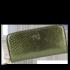 Luksusowe Skórzane Portfele Damskie firmy Vittoria Gotti Made in Italy Zielony