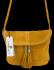 Uniwersalna Listonoszka Skórzana na co dzień w rozmiarze M firmy Vittoria Gotti  Żółta