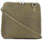 Malé kožené kabelky listonošky Genuine Leather zelená