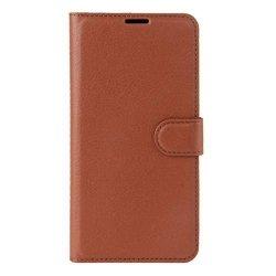 Zhouzl Premium Etui Wallet Case - Sony Xperia XZ Premium (brązowy)