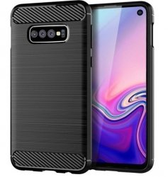 Etui Tech-Protect TPU Carbon Samsung Galaxy S10+ (S10 PLUS)