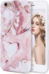 IMIKOKO MARBLE Etui Silikonowe Case - iPhone 6/6S 4.7 + szkło hartowane