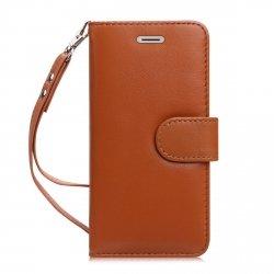 FYY Etui book case ze smyczką - iPhone 7+/8+ (5.5) (brązowy)