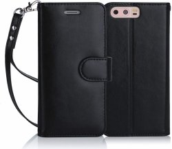 FYY Futerał Wallet Case - HUAWEI P10 PLUS - Etui book case (black)