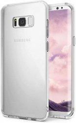 ETUI ELEGANCE PLATE - Samsung Galaxy S8 (transparent)
