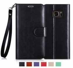 FYY Samsung Galaxy S7 Edge - Etui book case ze smyczką (black)